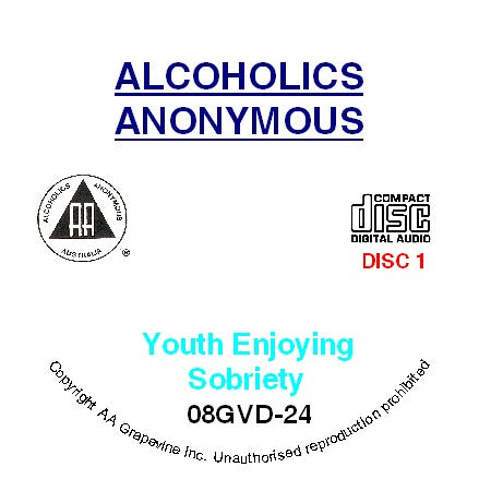 Youth Enjoying Sobriety CD