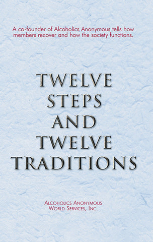 12 Steps & 12 Traditions (Large Print)