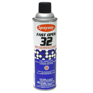Sprayway 032 Fast Open - H2O-based Screen Opener - 19 oz.