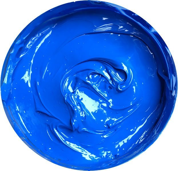 Plastisol Day Glow Fluorescent OL Series Ink - Brilliant Blue