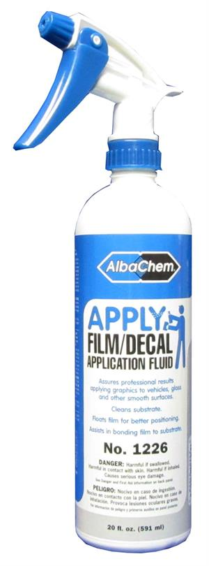 AlbaChem APPLY Film/Decal Application Fluid