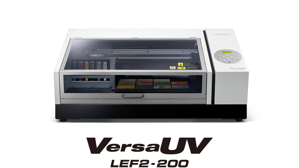 VersaUV LEF2-200 Benchtop UV Flatbed Printer