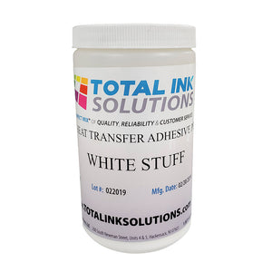 FrameFast White Stuff Heat Transfer Adhesive - Medium - 1 Pound