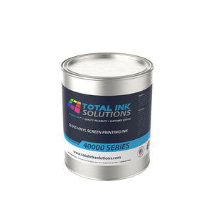 40000 SERIES GLOSS VINYL SCREEN PRINTING INK - Quart