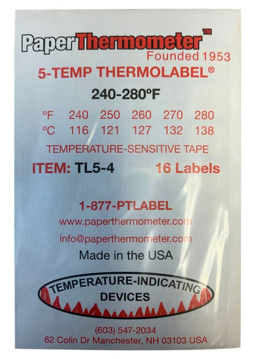 5-Temp THERMOLABEL®