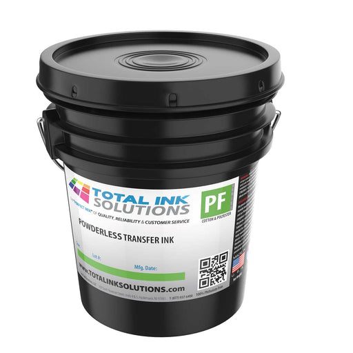 POWDERLESS Plastisol Transfer Ink - 5 Gallons