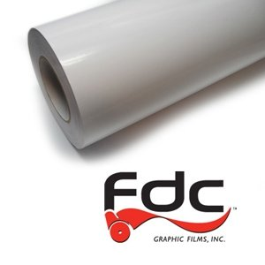 "7233 Series (30"" wide x 50 Yards) – FDC® Print Media: Intermediate Calendered, Air Advantage™ Adhesive"