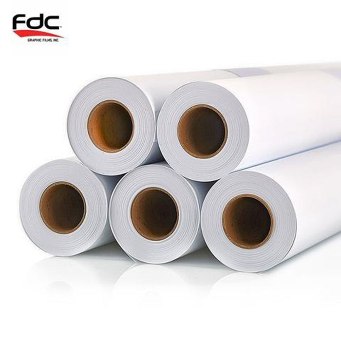 "7504 Series (38"" Wide x 40 Yards - MATTE WHITE) – FDC® Print Media: Banner, 13 oz."
