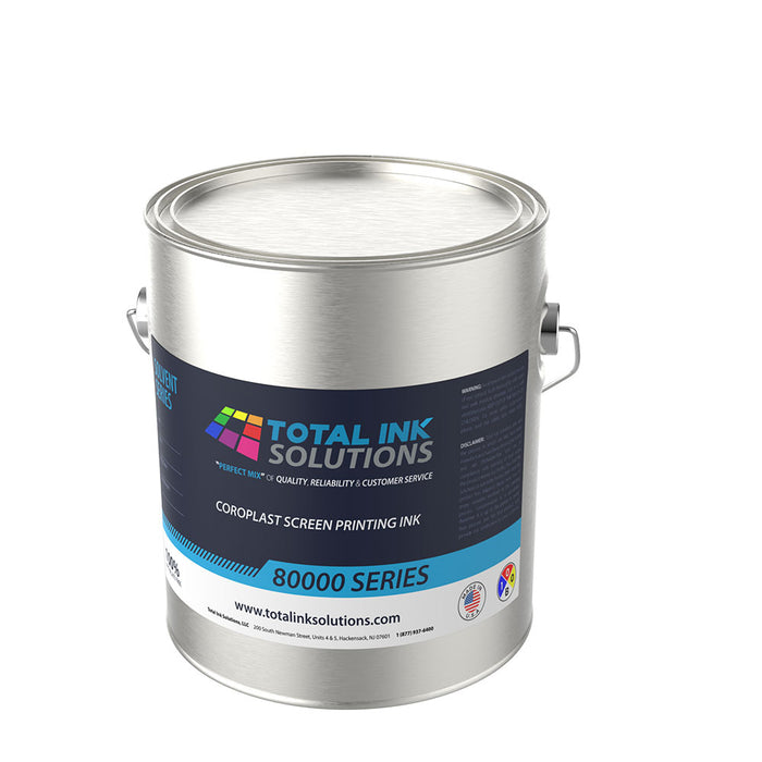 80000 SERIES COROPLAST SCREEN PRINTING INK - Gallon