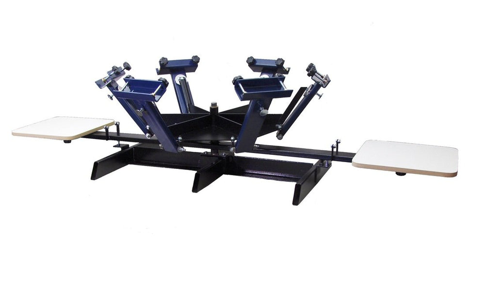 6 COLOR, 2 STATION PRESS with Stand