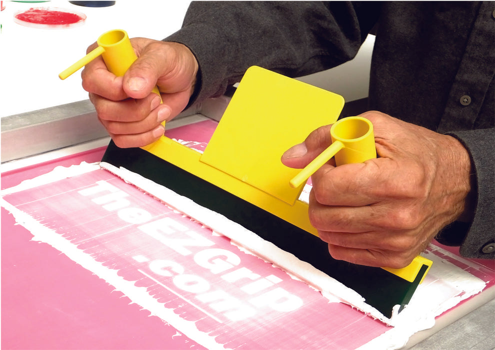 The EZGrip Screen Print Squeegee