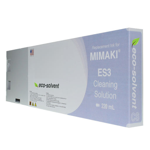 Cleaning Solution Cartridge for Mimaki Eco-Solvent ES3 - 220 mL