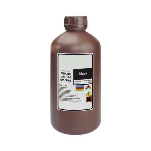 Compatible Replacement Ink for Mimaki LUS-120 UV Curable 1 Liter Bottle