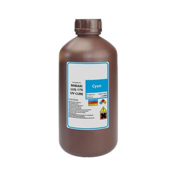 Compatible Replacement Ink for Mimaki LUS-170 UV Curable 1 Liter Bottle