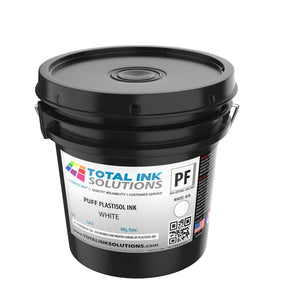 Puff Plastisol Ink - White - Gallon