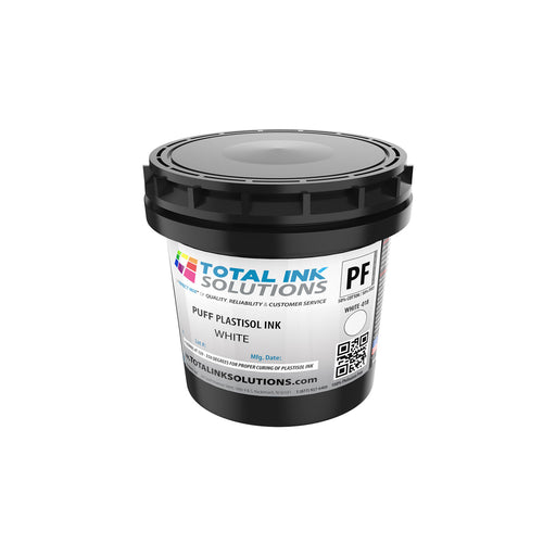 Puff Plastisol Ink - White - Pint