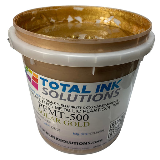Solar Gold - Metallic Low Cure Stretch Plastisol Ink