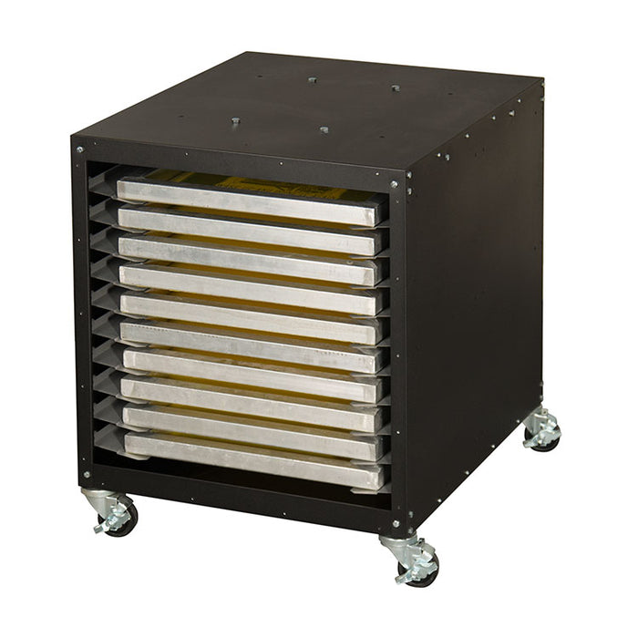 Vastex Utility Cart, Screen and Storage Cabinet - UC-1000