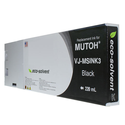 Compatible Replacement Cartridge for Mutoh Eco-Solvent VJ-MSINK3 - 220 ml
