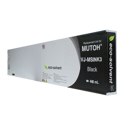 Compatible Replacement Cartridge for Mutoh Eco-Solvent VJ-MSINK3 - 440 ml