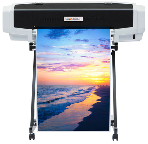 "Sawgrass Virtuoso VJ628 24"" Wide Format Dye Sublimation Printer + EasiSubli Ink Set"