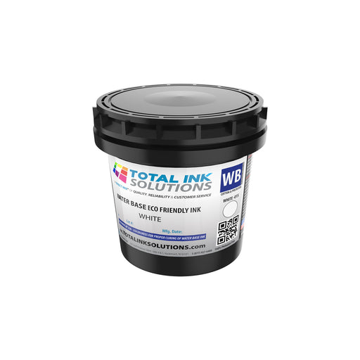 Waterbase Textile Ink - White - Pint