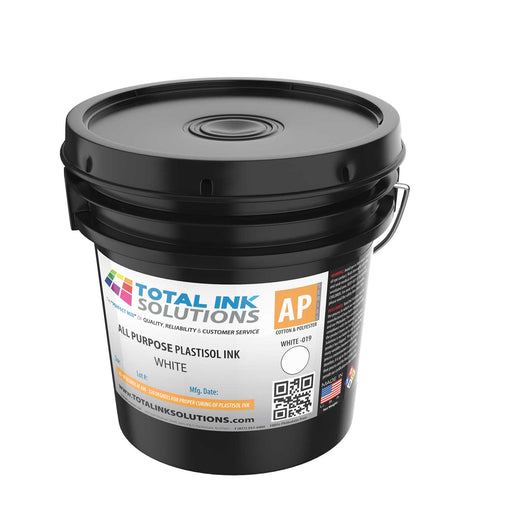 ALL PURPOSE PLASTISOL INK - White - GALLON