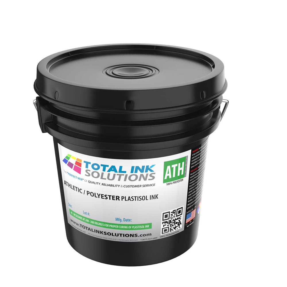 Athletic 100% Polyester Plastisol Ink - Gallon