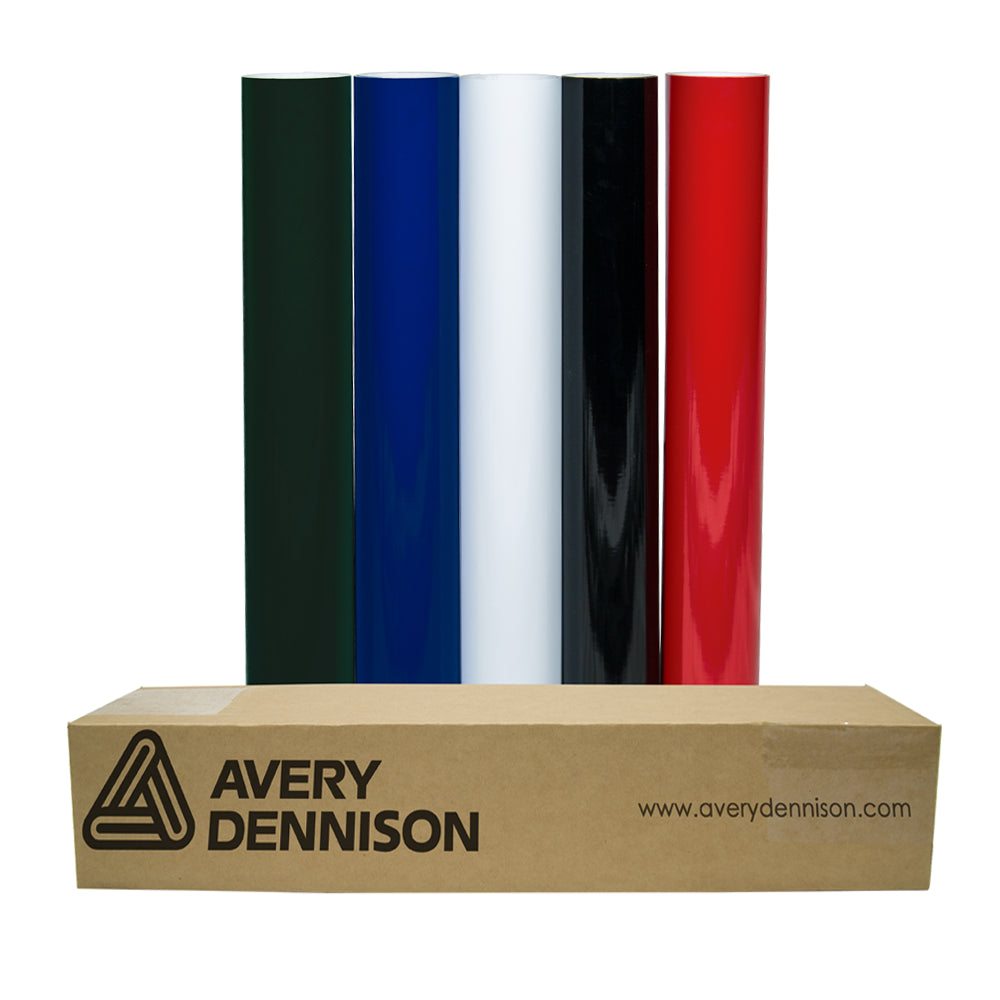 "Avery Dennison® HP750 Calendered Vinyl 48"" - 10 Yard Roll"