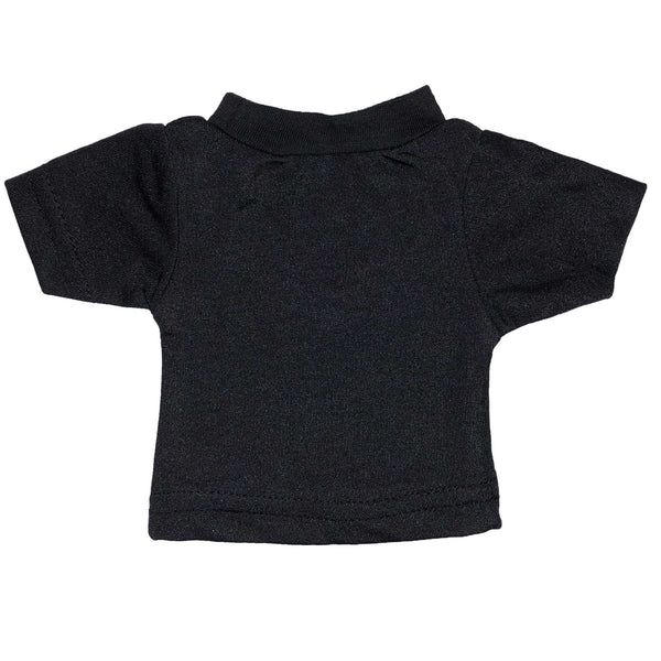 100% Polyester Mini Tshirts - Black 101