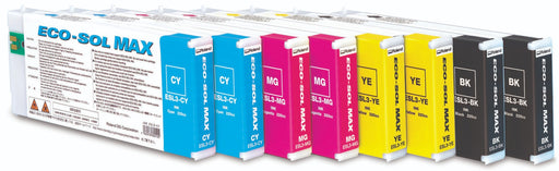 Roland Eco-Sol MAX Cyan Ink Cartridge - 220 CC
