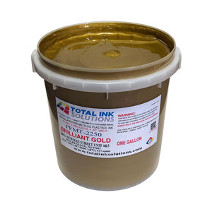 Brilliant Bright Gold - Metallic Low Cure Stretch Plastisol Ink