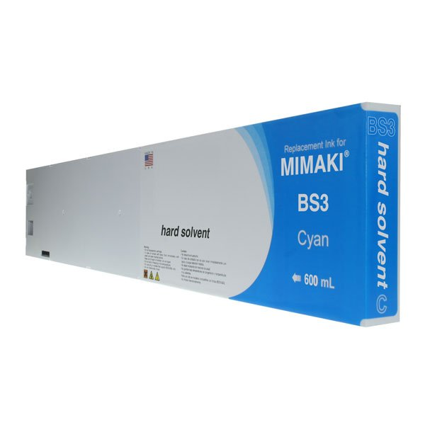Mimaki SPC-0693C Cyan Compatible Inkjet Cartridge