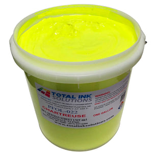 Plastisol Day Glow Fluorescent OL Series Ink - Chartreuse