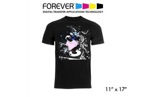 FOREVER Laser Dark (No-Cut) LowTemp Weedless Transfer Paper - 11 X 17