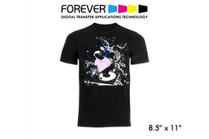 FOREVER Laser Dark (No-Cut) LowTemp Weedless Transfer Paper - 8.5 X 11
