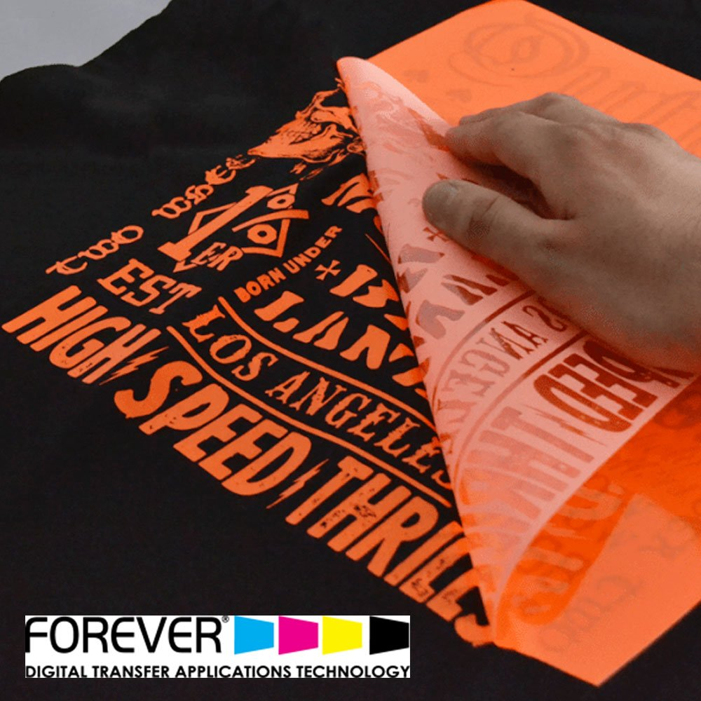 "FOREVER Flex-Soft (No-Cut) Laser Heat Transfer Paper, A + B Sheet Pair - 8.5"" X 11"" Sheets"