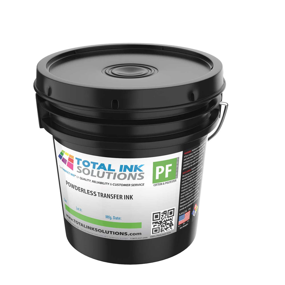 POWDERLESS Plastisol Transfer Ink - Gallon