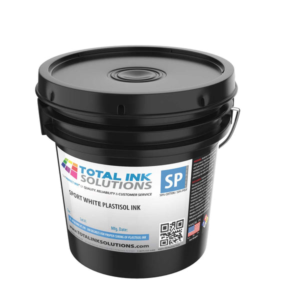 Sport White Plastisol Ink - Gallon