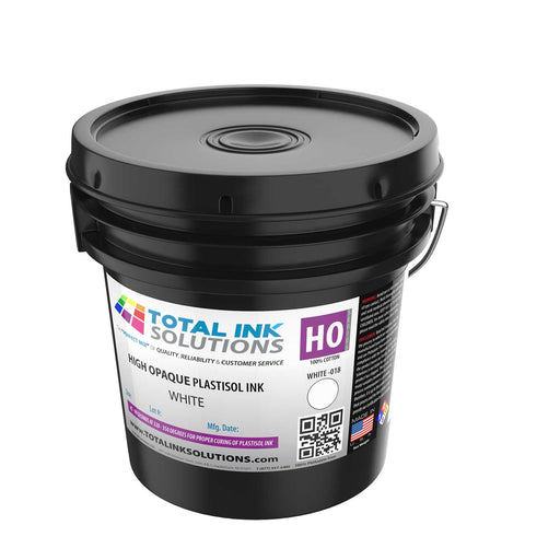 High Opaque Plastisol Ink – High Opaque White – Gallon