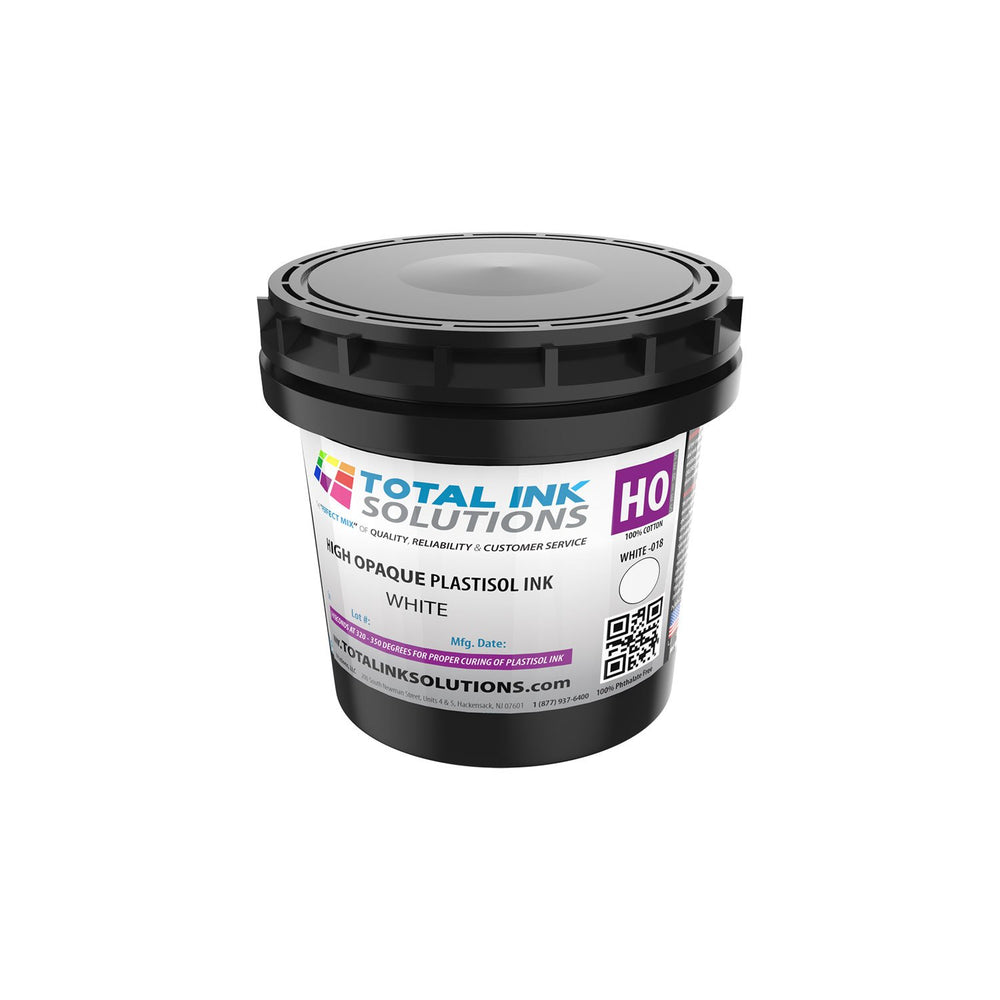 High Opaque Plastisol Ink - High Opaque White – Pint