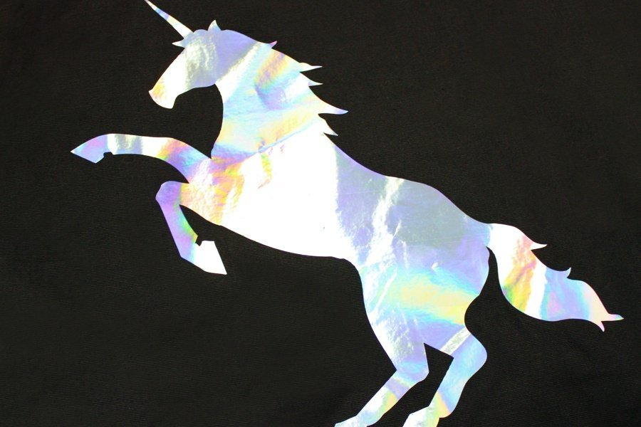 Holographic Heat Transfer Vinyl 18""