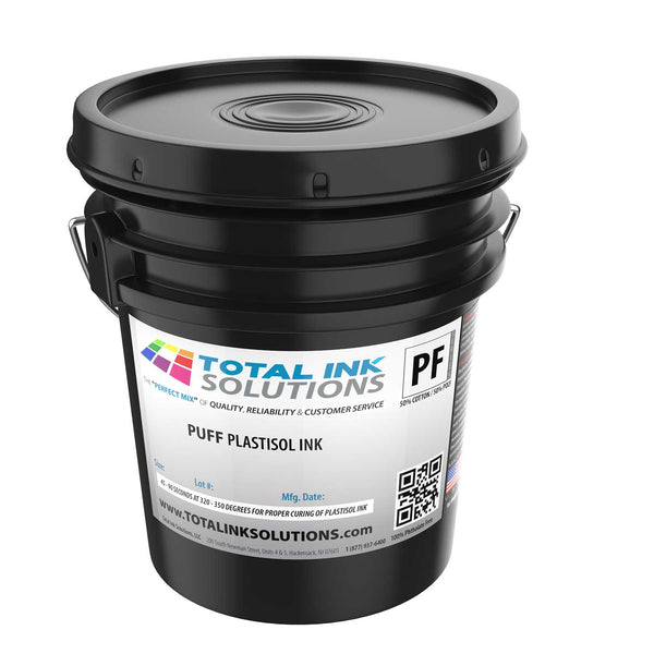 Puff Plastisol Ink - 5 Gallon