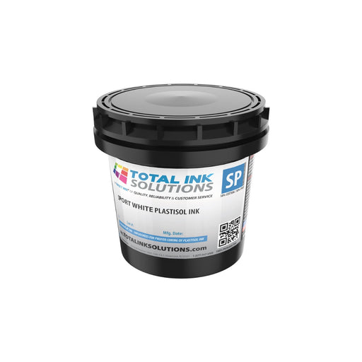 Sport White Plastisol Ink - Pint
