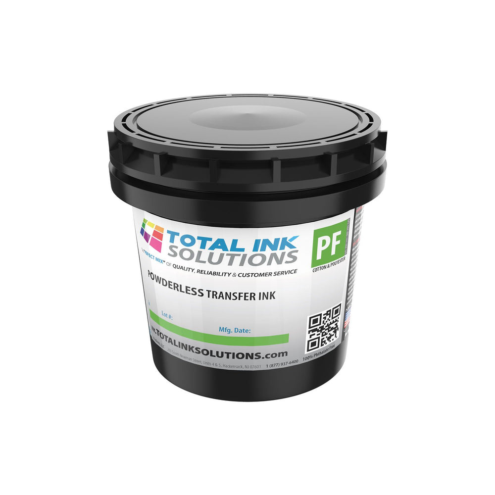 POWDERLESS Plastisol Transfer Ink - Quart