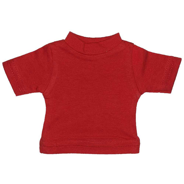 100% Polyester Mini Tshirts - Red 108