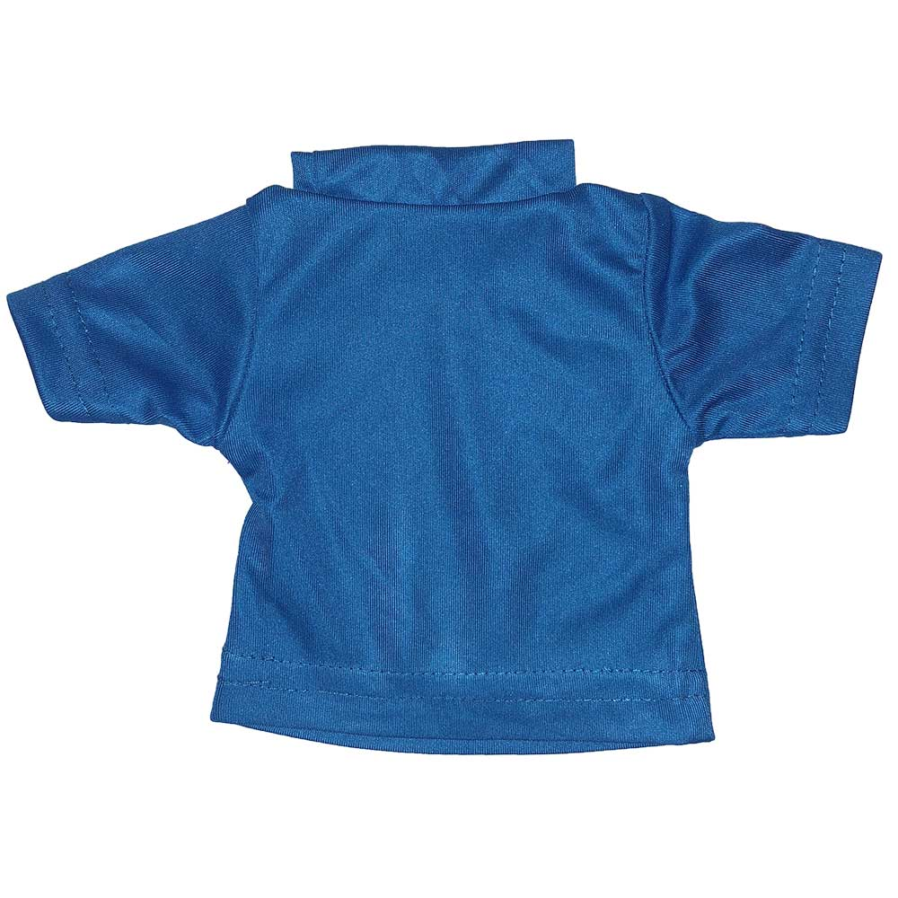 100% Polyester Mini Tshirts - Royal Blue 103