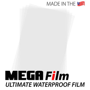 "MEGA Film Waterproof Inkjet Film Sheets - 13"" x 19"""