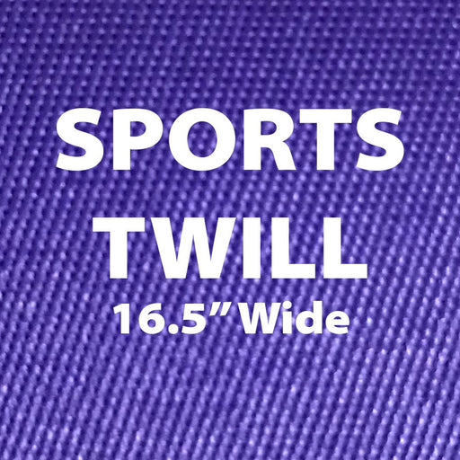 "Sports Twill w/ PSA Permanent Adhesive Backing 16.5"" Wide"