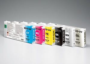 Roland Eco-UV - 4 Cyan Ink Cartridge - 220ml